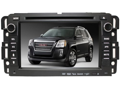 Chilin Car DVD for GMC Sonoma High Inch Touchscreen Double-DIN Car DVD Player & In Dash GPS Navigation System