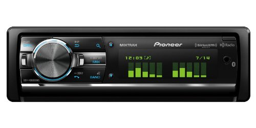 Pioneer DEHX9600BHS CD Receiver with Full-Dot LCD Display, MIXTRAX, Bluetooth, HD Radio Tuner, and SiriusXM Ready images
