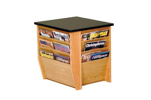 Image of End Table with Magazine Pockets FFE52 (FFE52-DM1-BG)