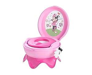 Disney Baby Y9908 - Orinal con sonidos, diseño Minnie Mouse, color rosa marca TOMY