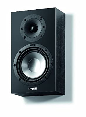Canton GLE-416 On-Wall Speakers - Black Pair from Canton
