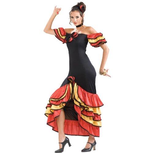 Spanish Lady Costume (Women's Adult Regular Size)