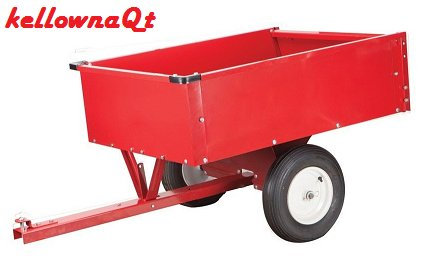 10 cu.ft. Garden Utility DUMP Cart Trailer for Fertilizer/Yard Lawn Waste (Wheelbarrow 10 Cubic Feet compare prices)
