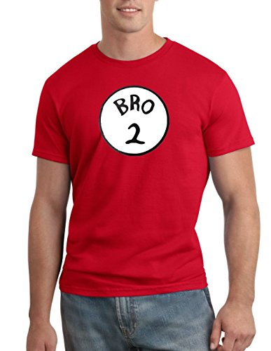 Bro 2 Halloween Funny Dr. Seuss T-shirt Group Costume Tee