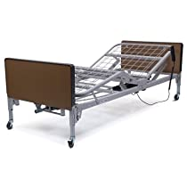 Big Sale Patriot Semi-Electric Bed Plastic Ends: With, Mattress Type: 1633-Reversible Foam, Rail Type: FDA Half