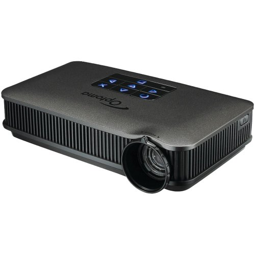Optoma pk320 wvga 100 led lumens pico pocket projector for Miroir wvga dlp pico pocket projector