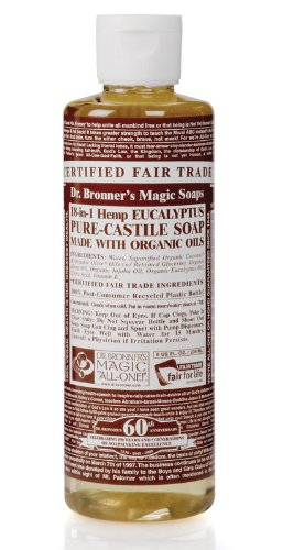 Dr. Bronner'S Magic Soaps: Liquid Castile Soap, Eucalyptus 8 Oz