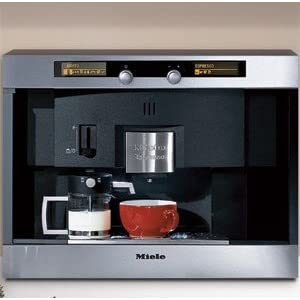Plumbed Coffee Maker With Grinder : Miele Built in Coffee System Expresses a Unique Combination