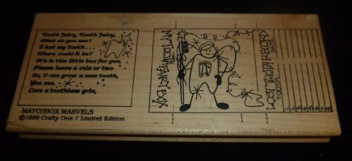 My Tooth Fairy Box Rubber Stamp