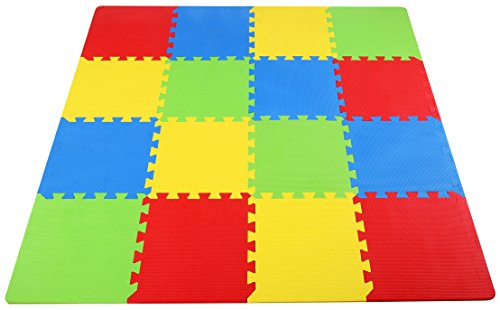 BalanceFrom-Kids-Puzzle-Exercise-Play-Mat-with-High-Quality-EVA-Foam-Interlocking-Tiles-Multi-Color