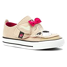 Converse Unisex-Baby Chuck Taylor All Star Creatures Rope/Berry Pink/Black Sneaker - 2