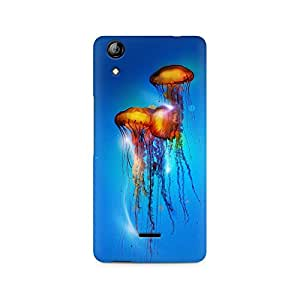 Mobicture Jelly Fish Premium Printed Case For Micromax Canvas Selfie 2 Q340