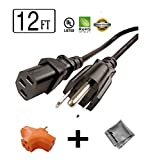 12 ft Long Power Cord for Viera VT3