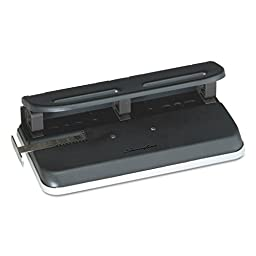 SWI74150 - 24-Sheet Easy Touch Three- to Seven-Hole Punch