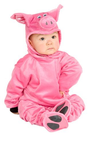 Charades Costume-Little Pig-0-6 Months