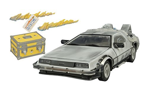 Back to the Future Iced Time Machine Vehicle Toy (Multi-Colour) by Unknown