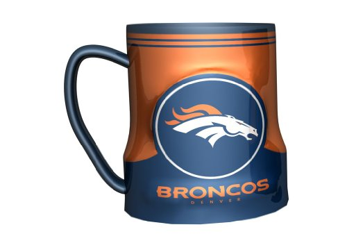 Denver Broncos Coffee Mug - 18Oz Game Time
