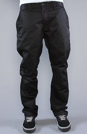 RVCA The Weekender Pants in Black,Pants for Men