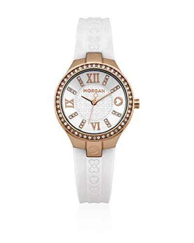 Morgan de Toi Reloj de cuarzo Woman Blanco 35 mm
