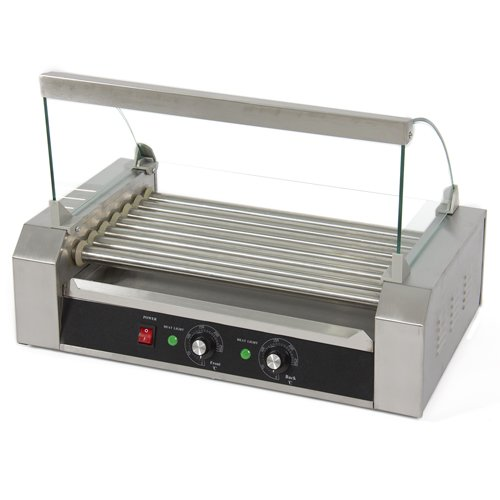 Best Choice Products New Commercial 18 Hot Dog Roller Grill Cooker Machine 1400 Watts Vending Business