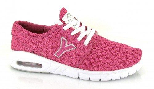 Yumas, Sneaker donna Rosa Fuxia
