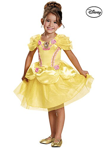 Little Girls' Disney Beauty and the Beast Princess Belle Costume Gown