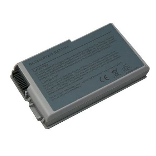 Dell Inspiron 600m Series Laptop Battery (Lithium Ion, 6 Cell, 4400 mAh, 49wh, 11.1 Volt)   Replacement for Dell D600 Series Laptop Battery