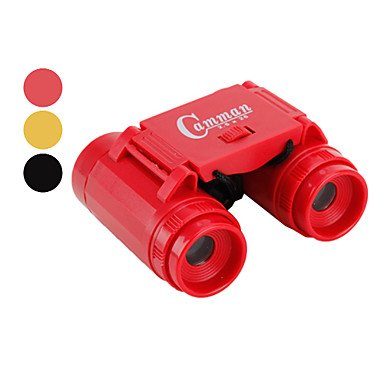 Gt 2.5X26 Portable Mini Binoculars For Kids (3 Colors Available) , Red