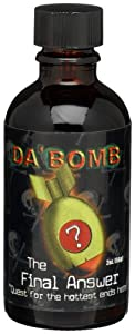 Dabomb The Final Answer Hot Sauce 2-ounce Glass Bottle by Da'Bomb