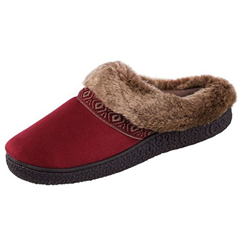 isotoner-womens-smartzone-gel-comfort-technology-scuff-slippers-2016-collection-chili-pepper-medium