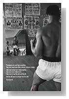 (24x36) Muhammad Ali Gym Champions Sports Poster Print