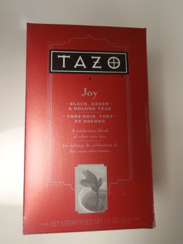 Tazo Joy Tea - 18 Sachets - Blend of Black Green & Oolong Teas