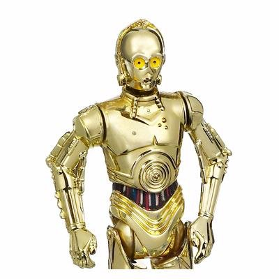 """Star Wars Saga Legends - C-3PO with Battle Droid Head 3.75"""" Figure with Silver Coin"""