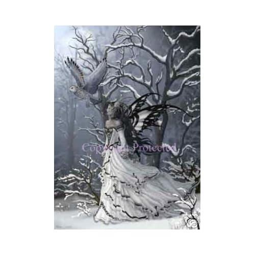 """Amazon.com: Nene Thomas Queen of Owls 5"""" x 7"""" Print"""