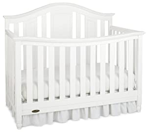 Graco Nottingham Convertible Crib, Classic White