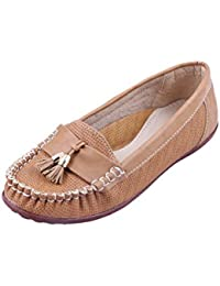 Adorn Women New Look Synthetic Leather Loafers