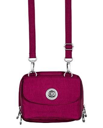 Baggallini Luggage Sicily Bag, Raspberry, One Size