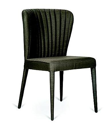 sedia poltroncina Completamente Imbottita, schienale a cucitura verticale. Mira. Sedia salotto - camera da pranzo