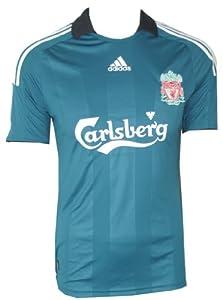 Mens Adidas 3rd Away Football Shirt 2008-2009 Sponsored By Carlsberg Size S