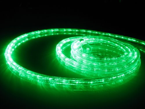 Awardpedia 18Ft Rope Lights Emerald Green LED Rope