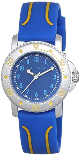 Esprit - ES108334001 - Montre Mixte - Quartz - Analogique - Bracelet plastique Bleu
