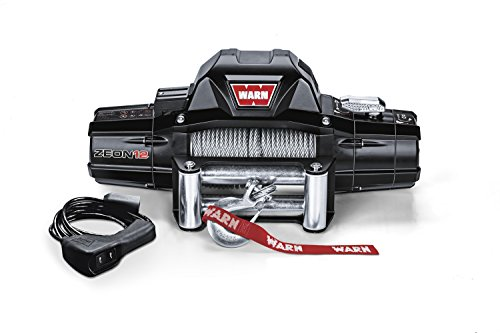 Warn 89120 Zeon 12 Winch With Wire Rope - 12000 Lb. Capacity