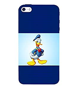 printtech Donald Duck Back Case Cover for Apple iPhone 5::Apple iPhone 5S