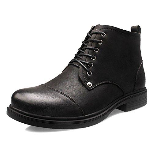 yc-top-moda-hombre-zapatos-high-top-de-piel-business-casual-botas-tamano-10-uk-negro