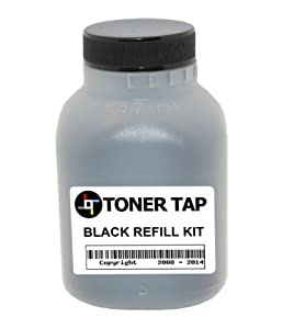 Toner Tap Refill Kit for BROTHER TN-221 BLACK TONER CARTRIDGE IN Brother HL-3140DW HL-3170CDW, MFC-9130CW, MFC-9330CDW, MFC-9340CDW