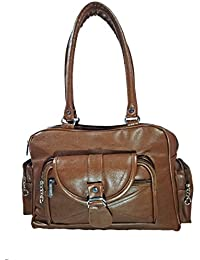 Jovial Ladies Brown Stylish Handbag