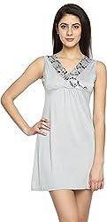 Texco Garments Women's A-Line Dress (6, Cement, S)