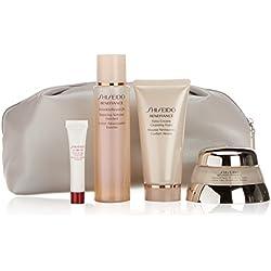 Shiseido - Performance Advanced - Tratamiento revitalizante absoluto + Espuma limpiadora + Loción suavizante enriquecida + Serum activador energizante - 1 pack