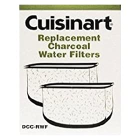 Cuisinart Keurig Single-Cup Brewer Water Filters (2 Pack)