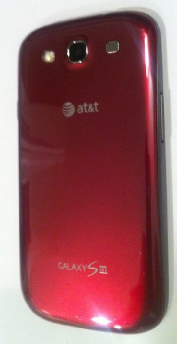 Samsung Galaxy SIII S3 SGH-I747 16GB Red AT&T